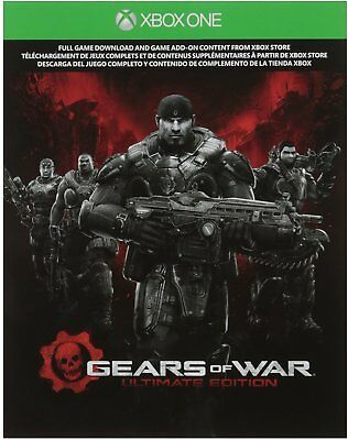 Xbox One Gears of War Ultimate Edition - Digital Download Card Video Game