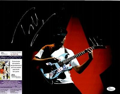 Tom Morello Signed 11x14 Photo w JSA COA #Q70715 Rage Against Machine Audioslave