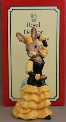 "Royal Doulton Bunnykins - ""Flamenco"" - DB256 - From Dancers of the World Series."