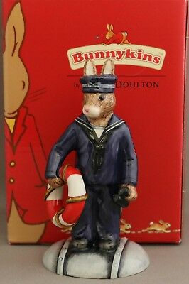 "Royal Doulton Bunnykins ""Sailor"" - DB370 - Second World War Collection - Signed."