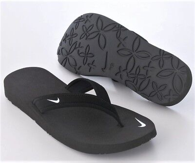 e3f3729ab72f NEW NIKE WOMENS CELSO THONG BLACK FLIP FLOPS Size 7 -  39.99