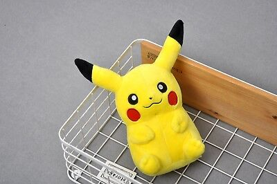 """8"""" Pokemon Pikachu With Arms  Pocket Monster Plush Toy Stuffed Doll TOYS"""