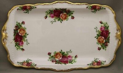 """Royal Albert - Large Sandwich Tray - """"Old Country Roses"""" - ***Made in England***"""
