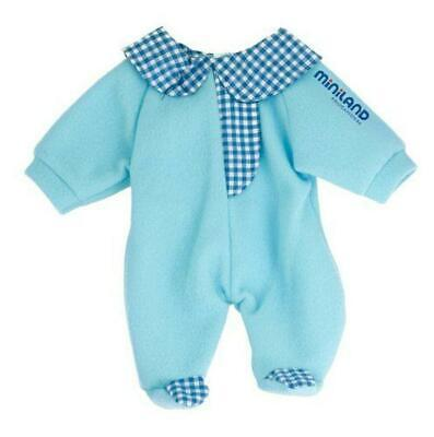 Miniland Blue Pyjamas 38cm Doll Clothes