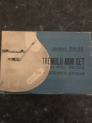 Vintage Acoustic Tremolo Arm Set