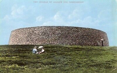 THE GRIANAN OF AILEACH CO DONEGAL nr LONDONDERRY IRELAND SIGNAL SERIES POSTCARD