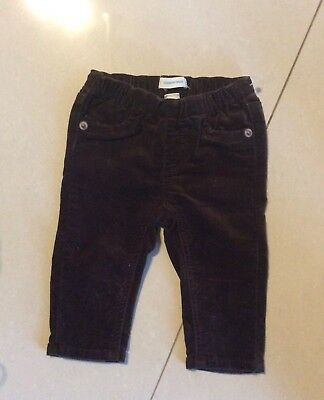Country Road!  Designer Brand Stretch Skinny Cords With Logo Patch. Euc, Sz 3-6M