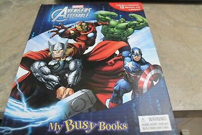 Marvel Avengers Busy Book ........ Avengers Assemble