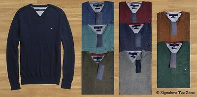 Winter clearance!!! NWT 100% Authentic Tommy Hilfiger Sweater/Jumper V Neck.