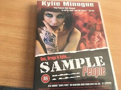 Kylie Minogue Smaple People Dvd. All Regions, New. 2003.