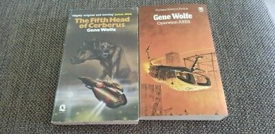 Gene Wolfe. The Fifth Head of Cerberus. Operation Ares. Vintage Science Fiction.