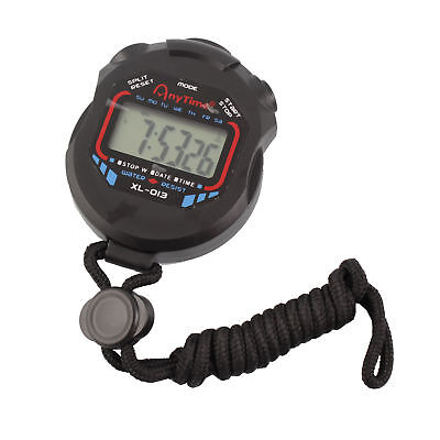 Digital Professional Handheld LCD Chronograph Timer Sports Stopwatch Stop Watch