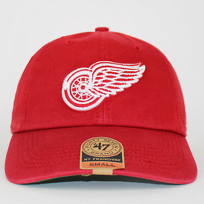 47 Brand NHL Detroit Red Wings Cap Red Dad Hat Fitted Baseball Cap