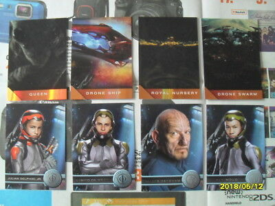 8 Inserts Cards Ender's Game von Cryptozoic
