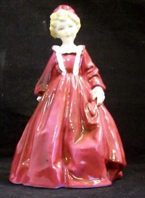 Royal Worcester Grandmothers Dress Figurine #3081 - Red Dress F.G. Doughty