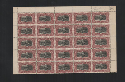 254 Congo Belge Belgium beautiful HCV part sheet MNH disturbed gum