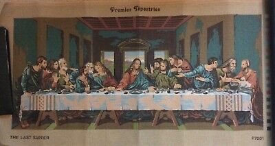 "Large Premier Tapestry canvas  ""The Last Supper""  98cm x 51cm"