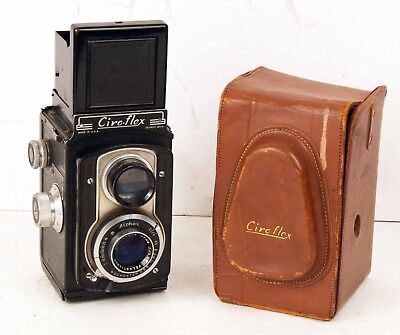 Vintage Ciroflex TLR Camera with Case