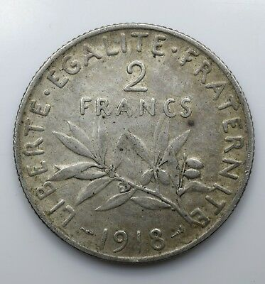 1919 France Two 2 Francs aEF - Lot 5