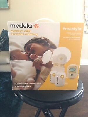 Medela Freestyle Mobile Breast Pump Double Electric - (101034712) *Brand New*