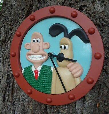 Vintage RARE Wallace & Gromit Wall Clock 1992