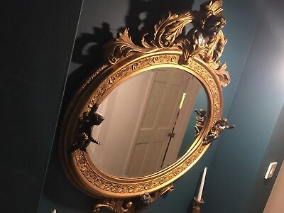 Ornate Carved Gilded Mirror