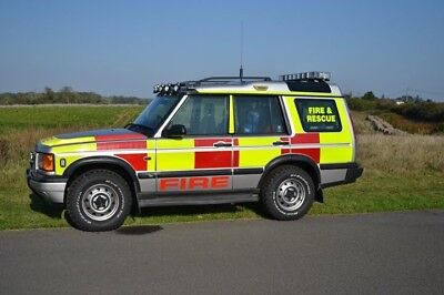 land rover discovery td5 manual Fire and rescue vehicle