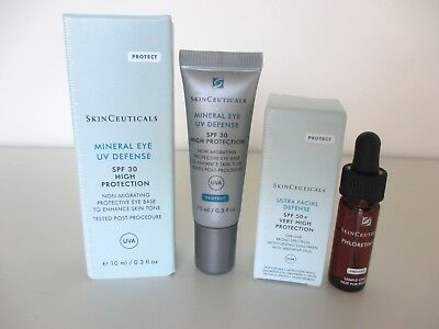 SkinCeuticals, Mineral Eye UV Defense SPF 30 und 2 Minis