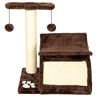 Cat Activity Tree Bed Scratching Post Pet Furniture Scratcher Play House Condo