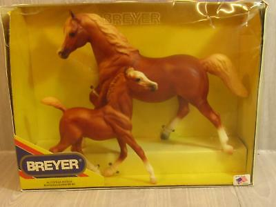 Breyer 1176 Sugar and Spice Running Mare and Foal Gift Set Horse Reeves