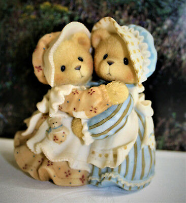 Cherished Teddies-HALEY AND LOGAN-SISTERS AND HUGS SOOTH THE SOUL-1998 P HILLMAN