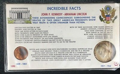 Incredible Facts Silver Kennedy Lincoln Penny Half Dollar 1964 1970 Coincidences