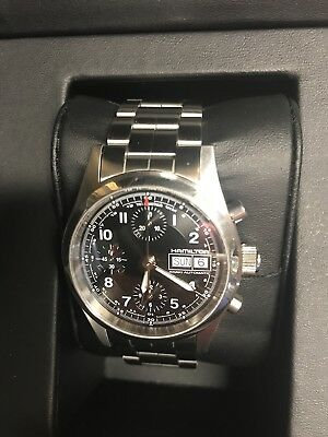 b355494f9 Hamilton Khaki Field Chrono Auto Men's Watch H71416137 38mm Valjoux 7750