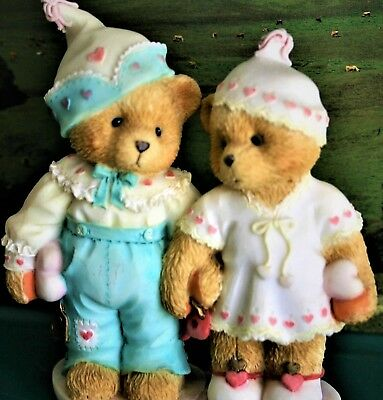 Cherished Teddies- Craig And Cheri-Sweethearts Forever- 1995P HILLMAN Collection
