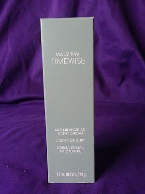 BRAND NEW!  Mary Kay Age Minimize 3D™ Night Cream Combination to Oily Skin