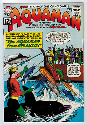 Aquaman #3 8.5 High Grade 1962 White Pages C