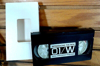 Rare Korg 01/W VHS Promotional Video Introducing The 01/W Music Workstation