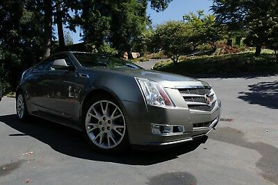 2011 Cadillac CTS Luxury 2011 Cadillac CTS coupe