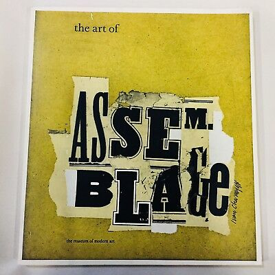 Vintage 1968 The Art of Assemblage Book Altered Art Steampunk Crafts