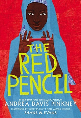 The Red Pencil by Andrea Davis Pinkney Shane Evans Book Brand HARDCOVER New USA