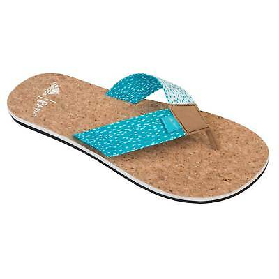 sports shoes c98bf ff6f1 New Mens adidas eezay Parley Slides Flip Flops Sandals Size 13