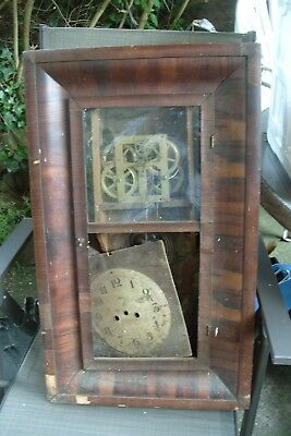 wall clock spares NEW  HAVEN WALL CLOCK SPARE  TO  REPAIR