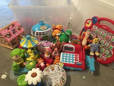 Bulk Lot Of Toys Various Toddler GC-VGC