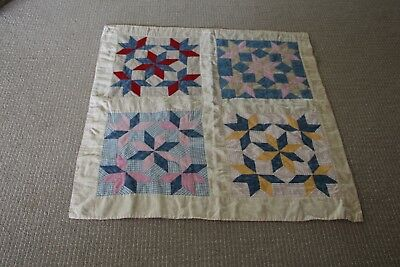 Antique ca. late 1800's- 1920's  Baby Quilt