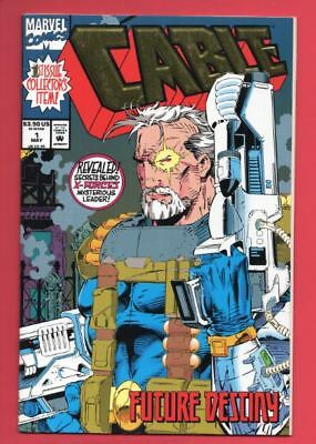 Cable #1 - (Series 1) #1 - Marvel - Deadpool - X-Force - Collector' Ed. VF+ / NM