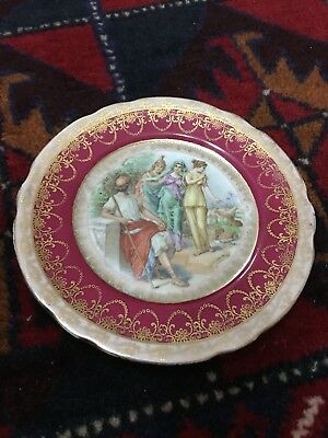 Very Rare And Unique Russian Gardner Porcelain Dish, c. 1870 18 cm Approximately