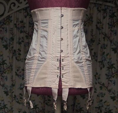 Vintage Charmode pink corset Sears Roebuck & Co. great wearable condition