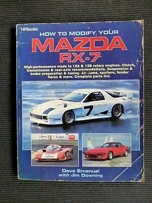 """MAZDA how to Modify your """" RX-7 """" 12A & 13B ROTARY ENGINES"""