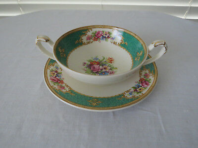 1949 Empire Ware **Duchess** Soup Coupe & Saucer...Excellent Condition No.2