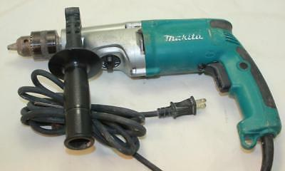 "Makita HP2050 3/4"" 2 Speed 6.6A Hammerdrill Driver Corded Used"